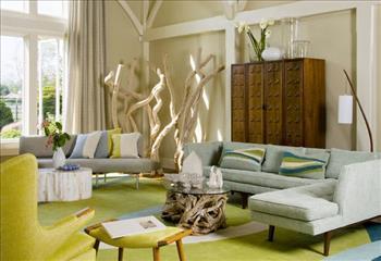 10 ایده رنگارنگ برای چیدمان فضای داخلی خانه+تصاویر