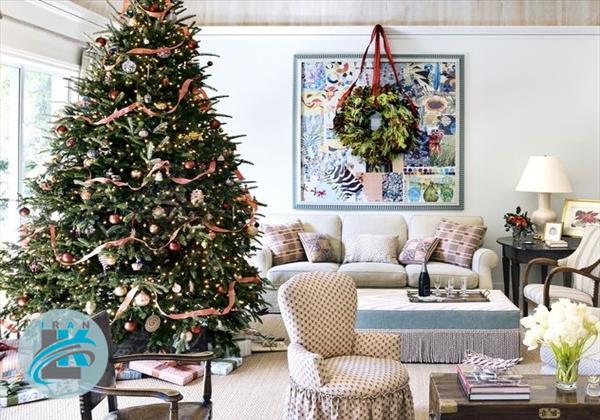 ایده های نو برای تزیین درخت کریسمس+عکس