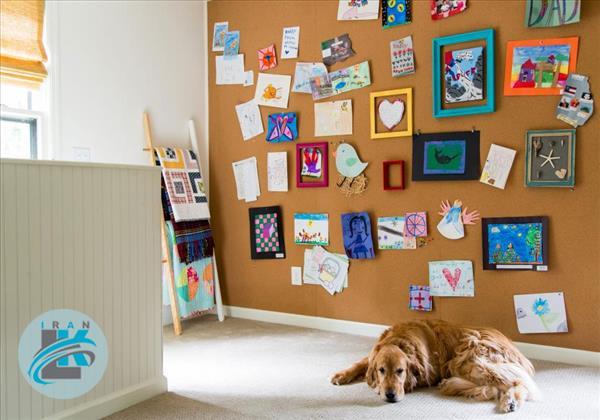 ایده های جالب برای دکوراسیون خانه با کاردستی کودکانتان +عکس