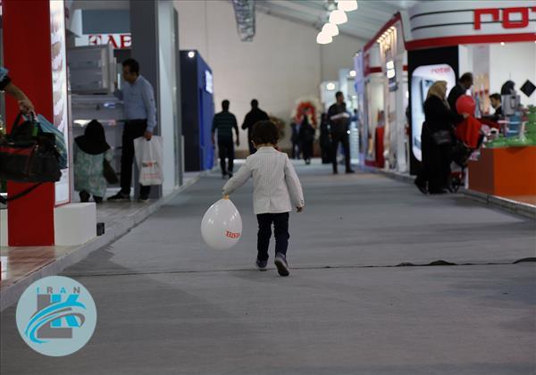 گزارش تصویری دومین روز ششمین نمایشگاه عرضه محصولات لوازم خانگی