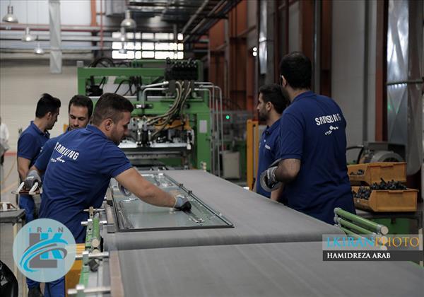 گزارش تصویری بازدید از کارخانه تولیدی سامسونگ در ایران
