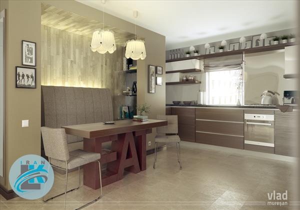 طراحی فضاهای غذاخوری رویایی در آشپزخانه!+عکس