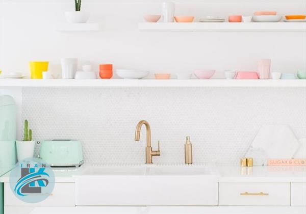 ایده های جالب برای دکوراسیون آشپزخانه های کوچک