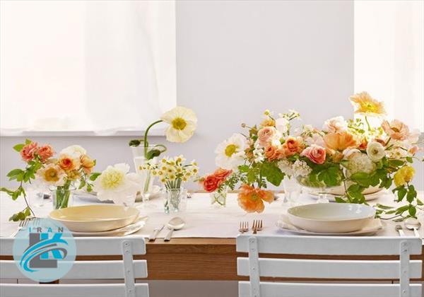 تزیین خانه با گل های بهاری!+عکس