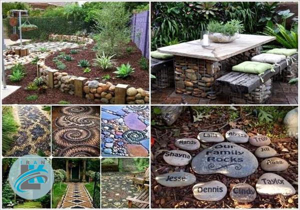 ایده های آسان برای طراحی حیاط خانه