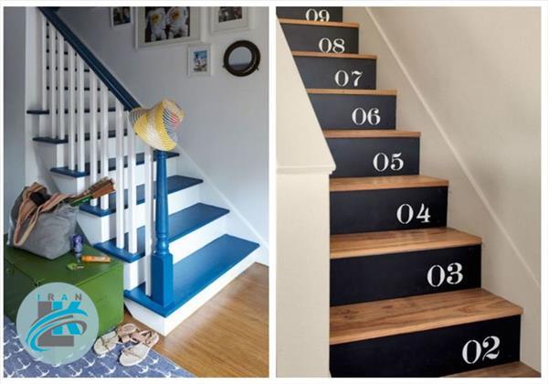 با این ایده های جذاب راه پله های خانه را منحصر به فرد کنید+عکس