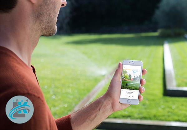 با آب پاش هوشمند چمن های سبزتری خواهید داشت