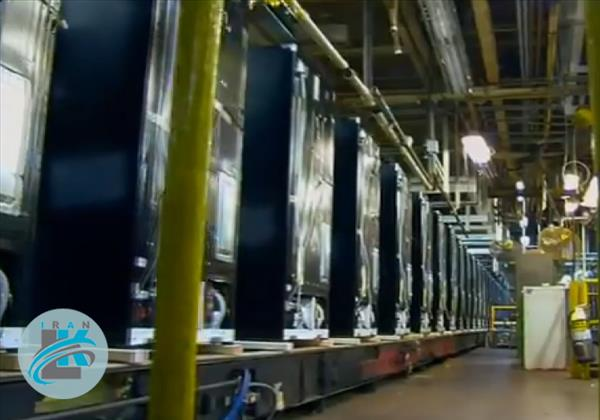 گشتی در کارخانه ی تولید یخچال فریزر+فیلم