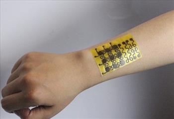 پوست الکترونیکی که خود را ترمیم می کند