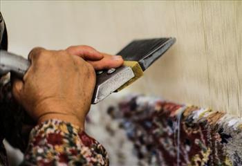 صادرات فرش دستباف کاهش یافت/تقلیل فهرست قالیبافان بیمه شده