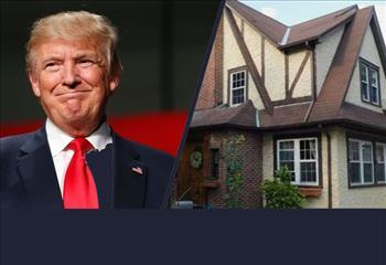 خانه ایام کودکی دونالد ترامپ اجاره داده می شود+تصاویر