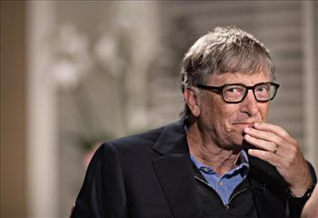 بیل گیتس ۴/۶ میلیارد دلار از ثروتش را وقف کرد