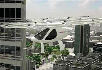 پرواز تاکسیهای پرنده در آسمان دبی یک گام دیگر به واقعیت نزدیک شد + عکس