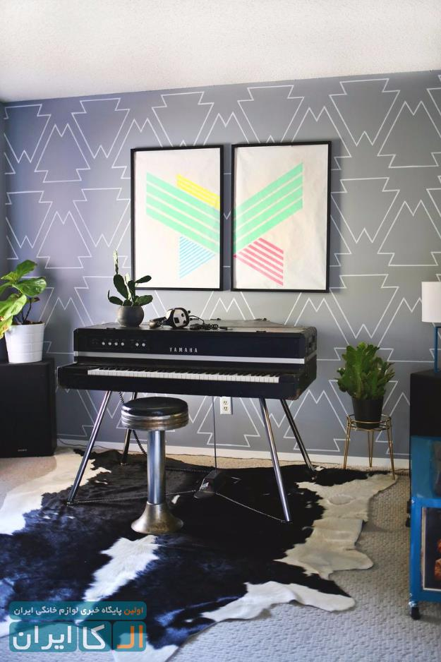رنگ آمیزی خانه