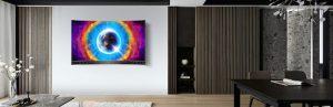 تلویزیون QLED UHD 4k هوشمند مدل c715 تی سی ال 55 اینچ