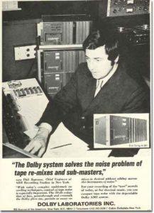 تاریخچه شرکت دالبی Dolby