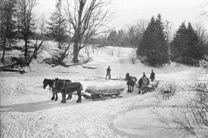 تاریخچه یخچال - برف