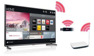 اتصال تلویزیون به اینترنت با تکنولوژی Wireless
