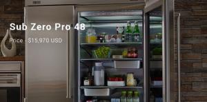 گران ترین یخچال ساب زیرو