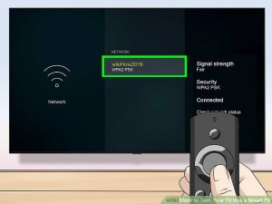 تنظیمات اتصال تلویزیون به اینترنت