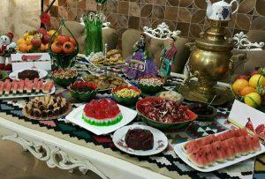 هندوانه میز شب یلدا