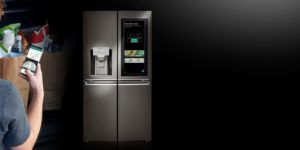 یخچال هوشمند ال جی وبهترین لوازم آشپزخانه