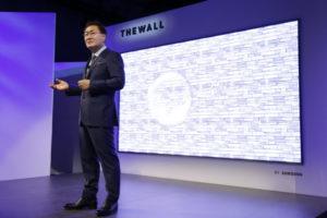 معرفی فناوری Micro LED سامسونگ The Wall