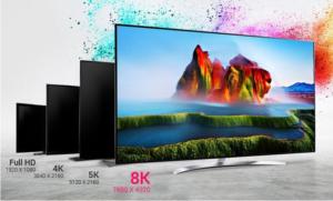 تصاویر تلویزیون 8K