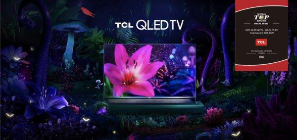 تلویزیون تی سی ال در CES 2020