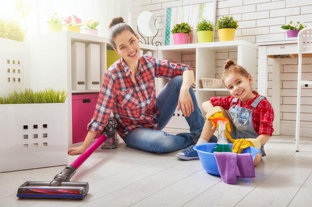خانه تکانی و تمیز کردن خانه
