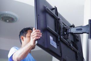 نحوه نصب و سوختن تلویزیون