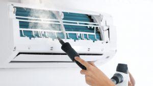 آموزش سرویس کولر گازی و وسیله تمیز کردن