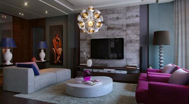 رنگ طوسی در دکوراسیون خانه