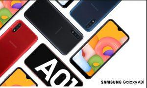 گوشی های هوشمند اقتصادی سامسونگ و گلکسی A01