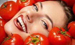بوتاکس طبیعی و ماسک گوجه