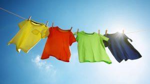 دسته بندی لباس ها برای شستشو
