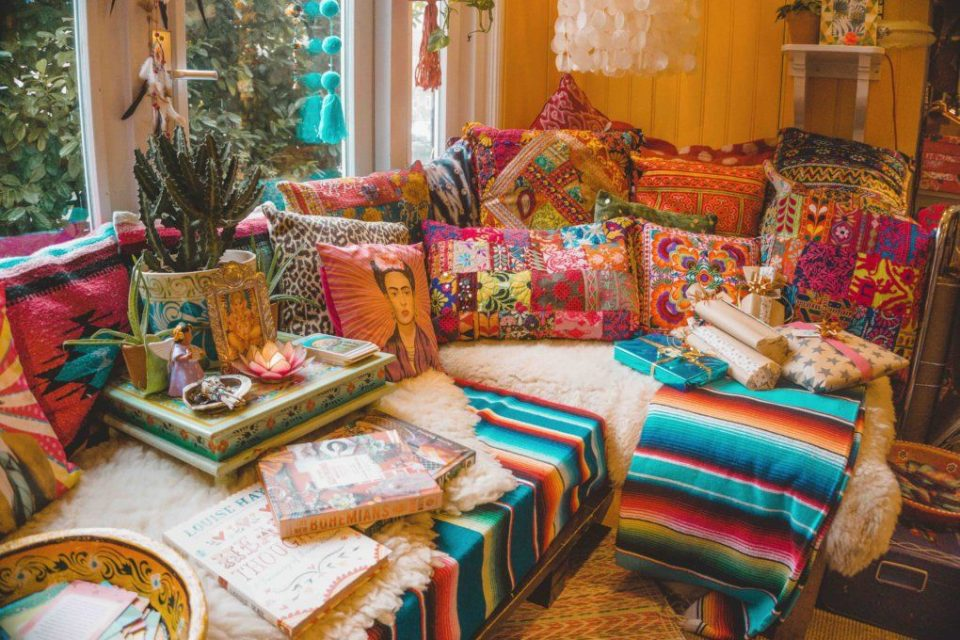 دکوراسیون خانه به سبک بوهو