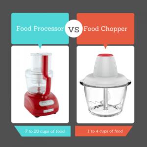تفاوت خرد کن با غذاساز