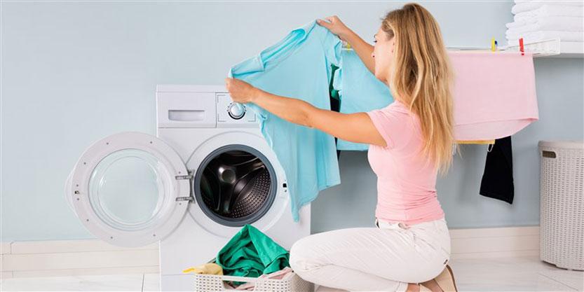 دسته بندی لباس ها برای شستشو با ماشین لباسشویی