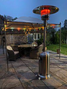 بخاری برقی برای فضای باز