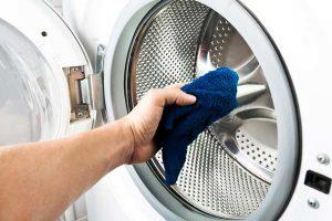 تمیز کردن محفظه دیگ ماشین لباسشویی سامسونگ
