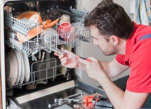 تعمیر و یا تعویض قطعات ماشین ظرفشویی کارکرده
