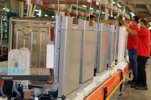 خط تولید ماشین ظرفشویی پاکشوما