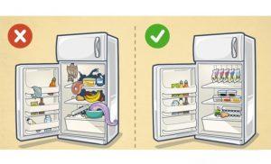 مرتب کردن یخچال