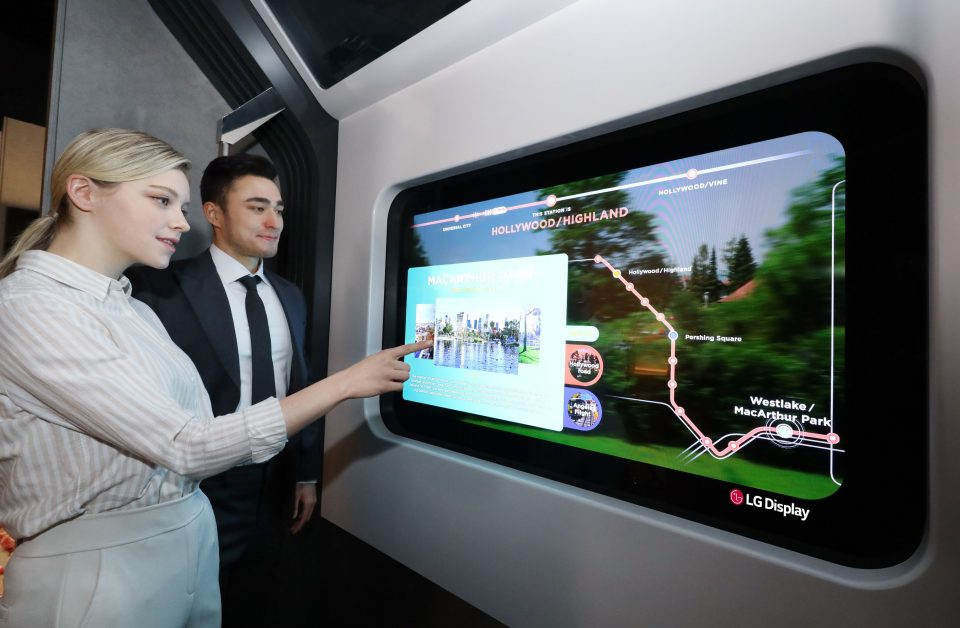 تلویزیون اولد شفاف ال جی در CES2021