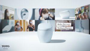 توالت فرنگی سلامتی توتو در CES 2021