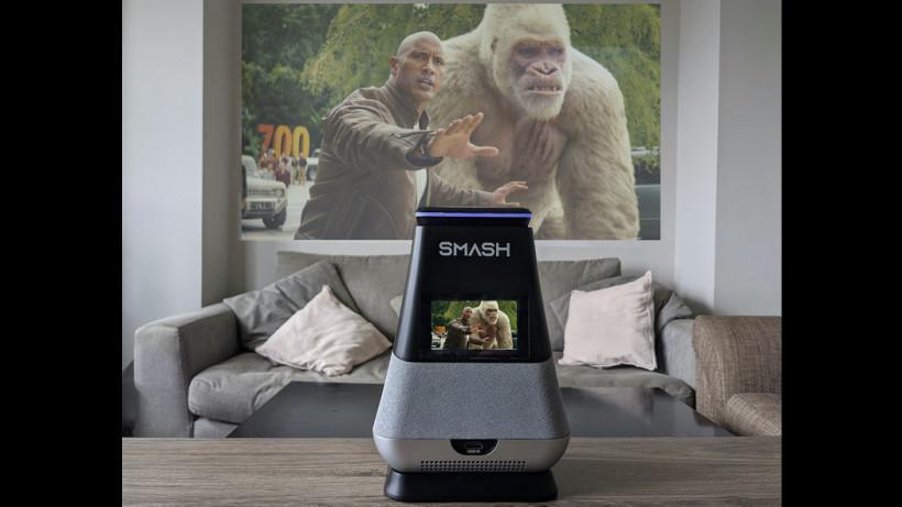 پروژکتور هوشمند قابل حمل WooBloo Smash