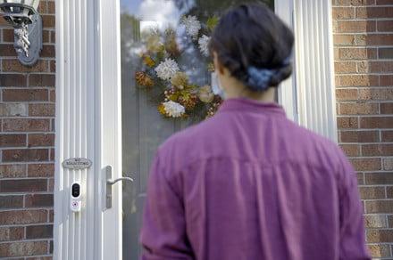 زنگ درب هوشمند در CES 2021