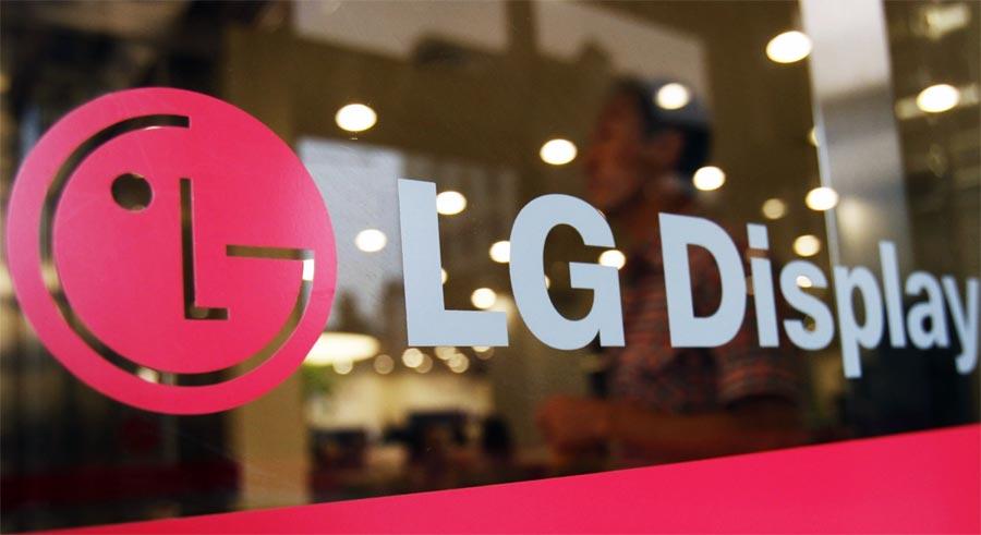 قطع تولید پنل تلویزیون LCD ال جی