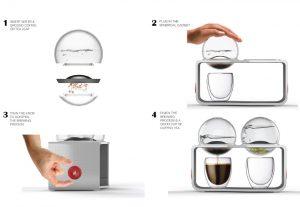 تهیه یک فنجان قهوه و یا چای دلچسب با آزمایشگاه قهوه دو در یک !